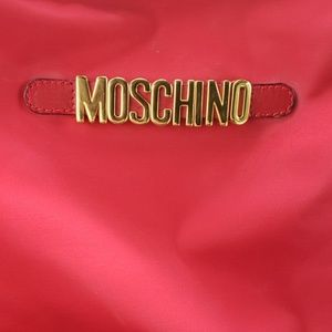Moschino Red bag 100% Authentic